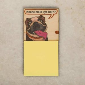 Post-it Fridge Magnets – Baaboo the Bull Dog