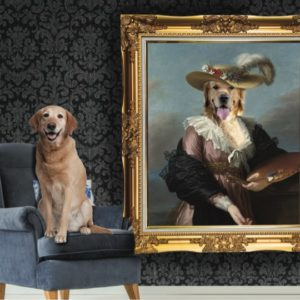 Renaissance Pet Portraits