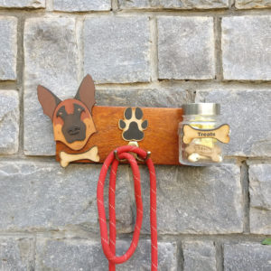 CollarFolk Leash And Treat Holder